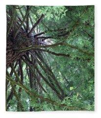 Glorious Tree  Fleece Blanket