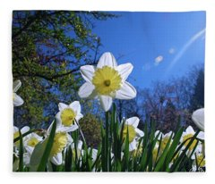 Glory Of Spring Fleece Blanket