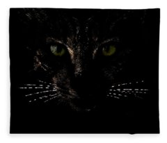 Glowing Whiskers Fleece Blanket