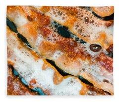 Gluten Free Bacon Fleece Blanket