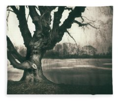 Gnarled Old Tree Fleece Blanket