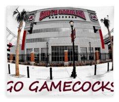 Go Gamecocks Fleece Blanket
