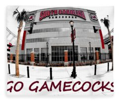 Go Gamecocks Fleece Blanket