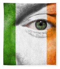 Go Ireland Fleece Blanket