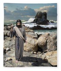 Go Your Faith Has Healed You Fleece Blanket