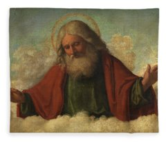 God The Father Fleece Blanket