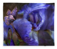 Goddess Of Mystery Fleece Blanket