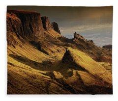 Gods Country Fleece Blanket