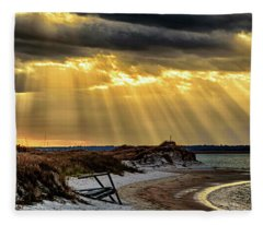 God's Light Fleece Blanket