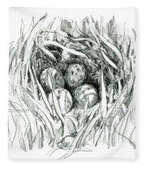 Godwit Nest Fleece Blanket
