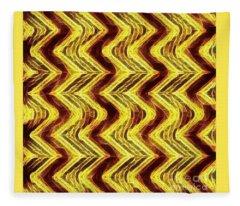 Gold Bar Fleece Blanket