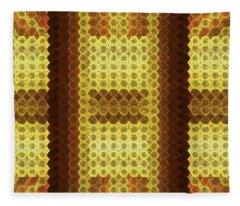 Gold C Fleece Blanket