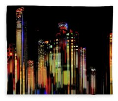 Gold Coast Rising Fleece Blanket