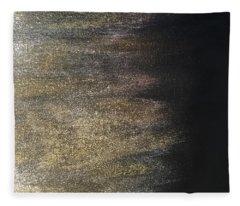 Gold Dusty Night Fleece Blanket
