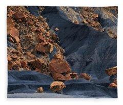 Gold Rush Fleece Blanket