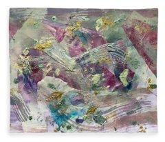 Gold Rushes  Fleece Blanket