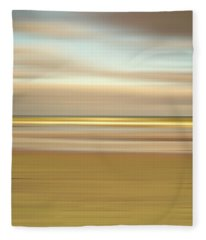 Golden Beach Fleece Blanket