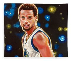 Golden Boy Fleece Blanket