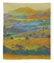 Golden Dakota Day Dream Fleece Blanket