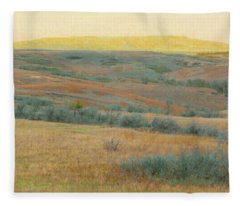 Golden Dakota Horizon Dream Fleece Blanket