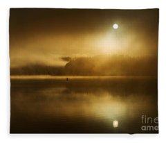 Golden Dawn Loch Ard Fleece Blanket
