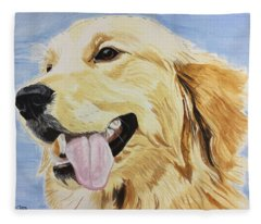 Golden Day Fleece Blanket