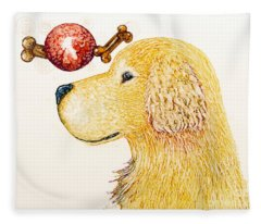 Golden Dreams Fleece Blanket
