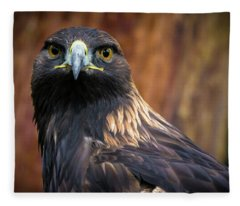 Golden Eagle 1 Fleece Blanket