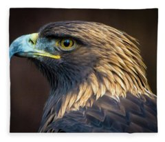 Golden Eagle 2 Fleece Blanket