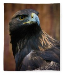 Golden Eagle 4 Fleece Blanket
