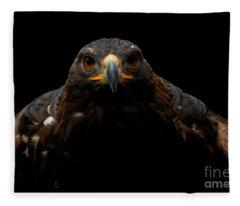 Golden Eagle - Full Frontal Fleece Blanket