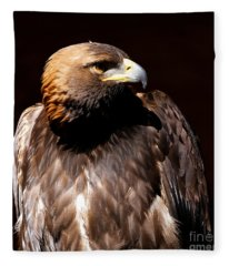 Golden Eagle - Intense Fleece Blanket