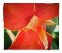 Golden Edge Fleece Blanket