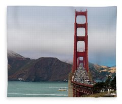 Golden Gate Fleece Blanket