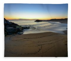 Golden Hour Fleece Blanket