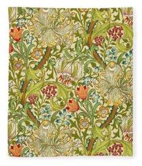 Golden Lily Fleece Blanket