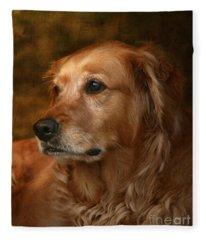 Golden Retriever Fleece Blankets