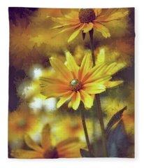 Golden Slumbers Fleece Blanket