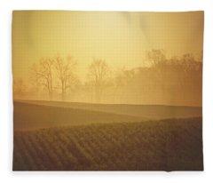 Golden Song Fleece Blanket