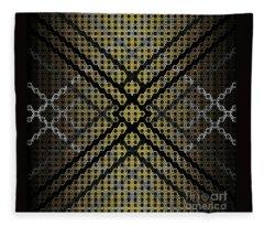 Golden Tri Fleece Blanket