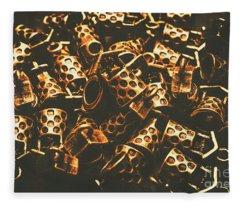 Golden Wells Fleece Blanket