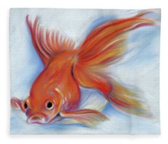 Goldfish Fleece Blanket