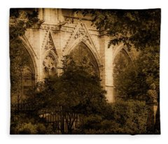 Paris, France - Goldoni In The Park Fleece Blanket