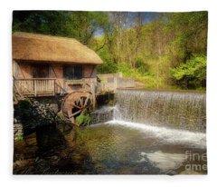 Gomez Mill House Fleece Blanket