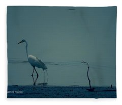 Gone Fishing  Fleece Blanket