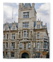 Gonville And Caius College. Cambridge. Fleece Blanket