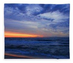 Good Morning - Jersey Shore Fleece Blanket