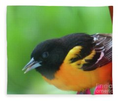 Good Morning Mr. Oriole Fleece Blanket