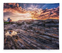 Good Morning Starshine Fleece Blanket