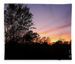 Good Night Love Fleece Blanket